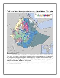 Ethiopia Map Africa by Emerging Use Cases For Digital Soil Nutrient Maps Of Ethiopia