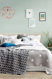 best 25 bedroom mint ideas on pinterest mint bedroom walls spare bedroom mint watery blue green walls grey accents comfy bed i like the star quilt bedroom
