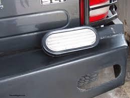 led bumper backup lights snowdigger com the garage led backup lights install