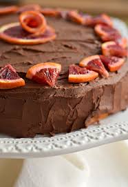 chocolate orange cake for winter birthdays west of the loop