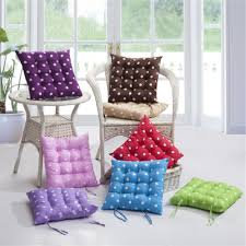 Gripper Chair Pads Round Chair Cushions With Ties Round Chair Cushions With