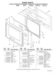 Whirlpool Black Ice Door Door Parts Whirlpool Wfe540h0as User Manual Page 6 7