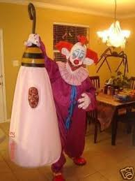 Killer Klowns Outer Space Halloween Costumes Size