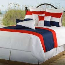 Nautical Bed Set Nautical Latitudes Comforter Bedding