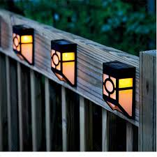 Solar Power Led Outdoor Lights Led Wall L Solar Powered Led Path Fence L Outdoor Lighting