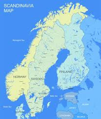 World Map Sweden by Map Sweden
