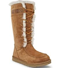 ugg womens grandle boots ugg boots womens tularosa chestnut lace up w a l k