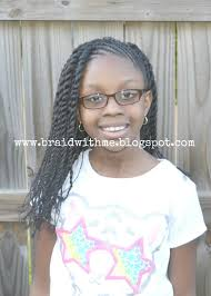braid with me curly two strand twists natural hair styles