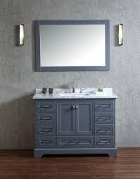 stufurhome hd 7130g 48 cr newport single sink bathroom vanity set
