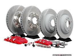 porsche cayenne service ecs porsche 955 cayenne turbo s 06 brake service kits