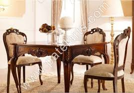 Carved Dining Table And Chairs Wooden Dining Set Wooden Carved Dining Table Wooden Carved
