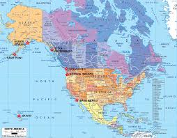 United States Political Map by Map Usa Bahamas Map Images Northandsouthamerica Map Canada Usa