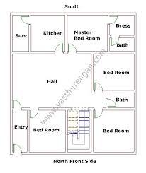 West Facing House Vastu Floor Plans North House Vastu Plan 7 Vasthurengan Com