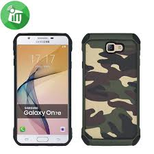 camouflage shockproof armor back cover for samsung galaxy j7