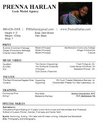 Actor Resume Commercial Modeling Resume Resume For Your Job Application
