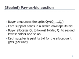 pay to bid auction informing total cost of ownership in supplier selection