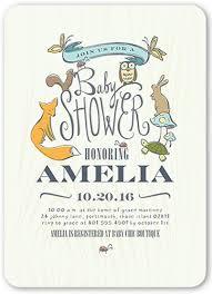 woodsy shower 5x7 gender neutral baby shower invitations shutterfly