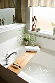 Wood Bathtub Caddy Insanely Easy Way To Make A Bathtub Caddy Tray Do Dodson Designs