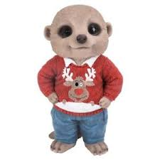 jumper baby meerkat ornament by arts in gift