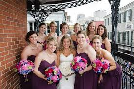bridesmaid statement necklaces what type of jewelry bridesmaids are wearing amanda badgley designs