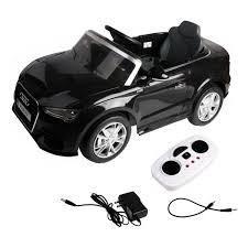 for children rc adventure video costway 12v audi a3 licensed rc kids ride on car electric remote