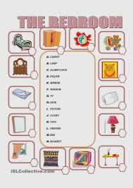furniture list for new home bedroom names things in the worksheet