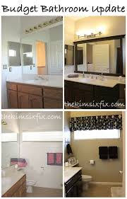 Bathroom Cheap Makeover Guest Kid Bathroom Makeover Flashback Friday The Kim Six Fix