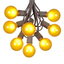 g50 patio string lights with 25 clear globe bulbs u2013 outdoor string