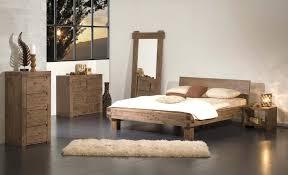 chambre acacia lit vente de lit rond en bois moderne contemporain design