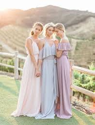 light bridesmaid dresses the new bridesmaid dresses by joanna august blush pink