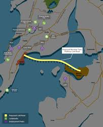 Mumbai Map Mumbai Trans Harbour Link Future Project In Mumbai Map View Hdfc Red