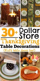 diy dollar store thanksgiving table decorations kid s table decor