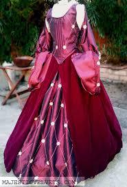 renaissance velvet and taffeta embroidered skirts bodice 2