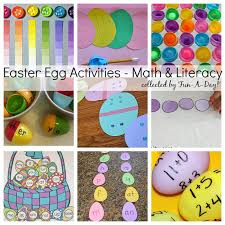 50 easter egg activities for learning art and play