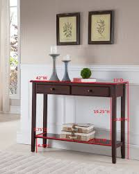 Table For Entryway Brand Furniture Console Entryway Table With 2