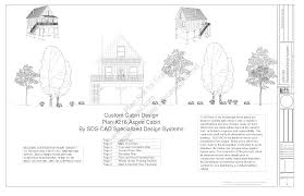 216 aspen cabin plans converted to to raised flood plain cabin