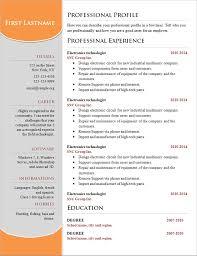 examples of resumes simple resume sample for fresh graduate job