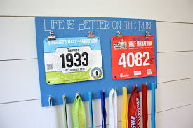 bib and medal holder life is better on the run medal holders
