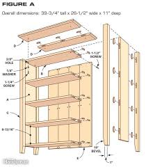 Dvd Shelf Wood Plans by Two Shelf Bookcase Plans Roselawnlutheran