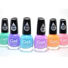 amazon com santee 6 gel effect shine nail polish