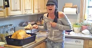 baby turkey thanksgiving pulls thanksgiving day prank on