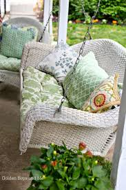 Wicker Patio Furniture Cushions - best 25 wicker porch furniture ideas on pinterest white wicker