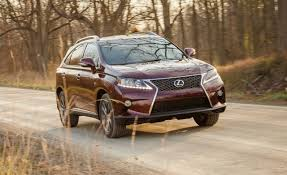 lexus small truck 2013 lexus rx350 f sport test u2013 review u2013 car and driver