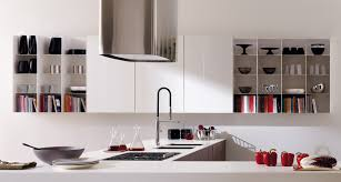 kitchen classy white kitchen design idea with metal wall mounted