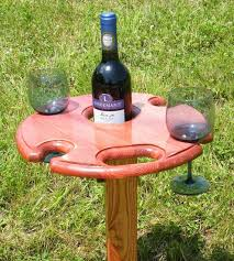 outdoor wine glass holder table re pin for later outdoor wine glass holder sedona red holds one by