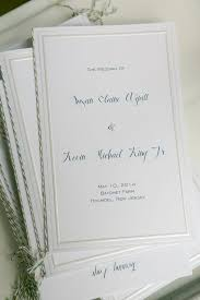blank wedding programs the world s catalog of ideas