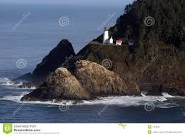 map of oregon lighthouses oregon lighthouse stock image image of pacific lighthouse 1519007