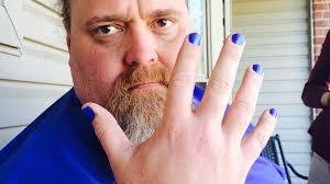 louisiana dad looks to raise autism awareness with blue nail polish abc news