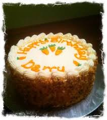 how to candy carrots to decorate a carrot cake with so different