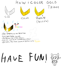 how i color gold things fail tutorial by dewa chan on deviantart